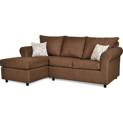 Dewitt Sectional Upholstery: Due Chocolate & Lizbeth Carob
