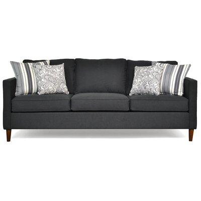 Del Lago Ivy Sofa Upholstery: Flanders Onyx / Classy Ebony / Lizbeth Graphite