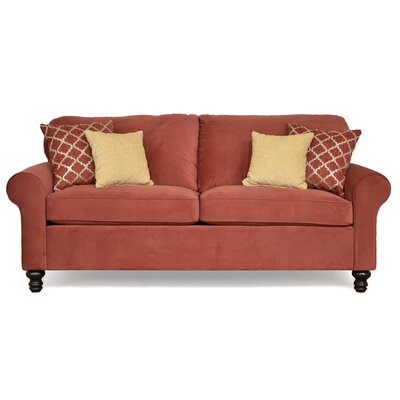 Elizabeth Sofa Upholstery: Abbington Cranberry / Delnorte Ruby / Winn Golden