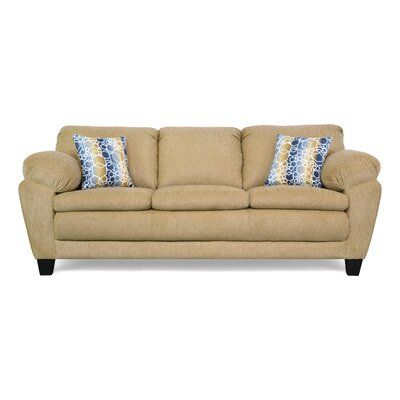 Curren Sofa Upholstery: Due Tan / Obscruity Fresco