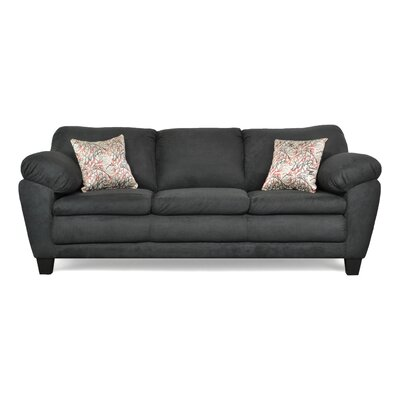 Curren Sofa Upholstery: Bulldozer Black / Mathem Graffiti