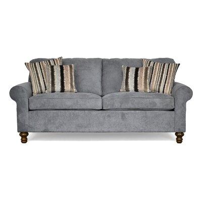 Elizabeth Sofa Upholstery: Wrigley Pewter / Warwick Pewter / Warwick Charcoal