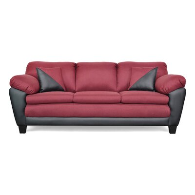 Brooklyn Sofa Upholstery: Theo Marron / Cabo Black