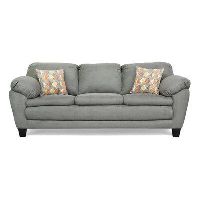 Curren Sofa Upholstery: Bulldozer Graphite / Ventura Cheshire