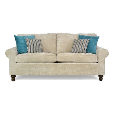 Elizabeth Sofa Upholstery: Hearth Khaki / Hearth Teal / Zanga Aegean