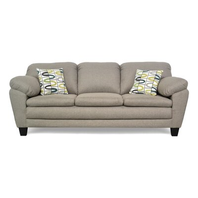 Curren Sofa Upholstery: JItterbug Taupe / Lucky Alpine