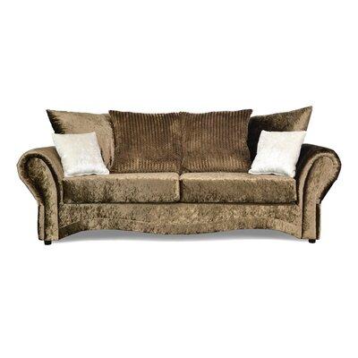 Riley Sofa Upholstery: Pazzo Toffee / Hene Mocha / Bliss Ivory