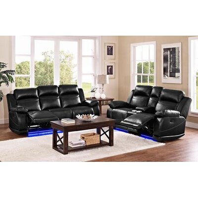 Robins Reclining Configurable Living Room Set
