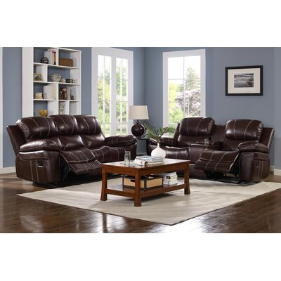 Mcelhaney Motion Reclining Configurable Living Room Set