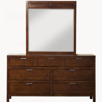 Juno 7 Drawer Dresser with Mirror