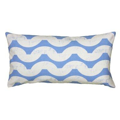 Ampelius Cotton Lumbar Pillow Color: White