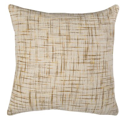 Wyss 100% Cotton Pillow Cover Color: Gold / White