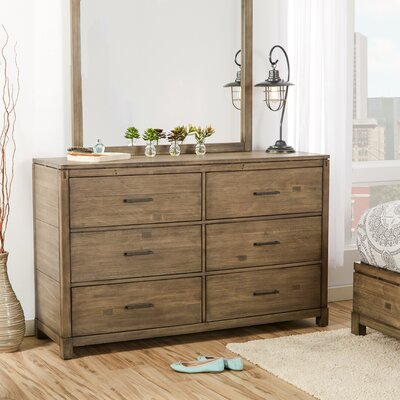 Pax 6 Drawer Double Dresser
