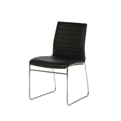 Beatrix Guest Chair Upholstery: Black
