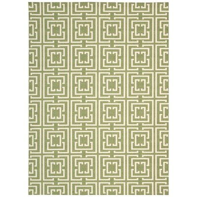 Anemone Green Area Rug Rug Size: Rectangle 4 x 6