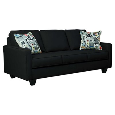 Serta Upholstery Liadan Sofa Upholstery: Graham Black/Graffiti Nightlight