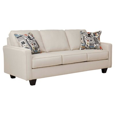 Serta Upholstery Liadan Sofa Upholstery: Graham Cream/Graffiti Nightlight