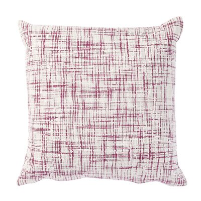 Wyss Pillow Cover Color: Purple / White