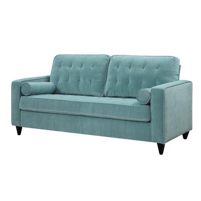Arrieta Sofa Upholstery: Turquoise Blue