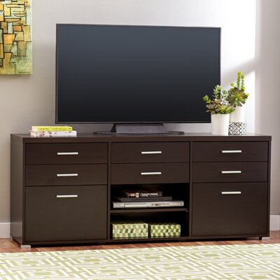 Spotlight TV Stand Finish: Cappuccino