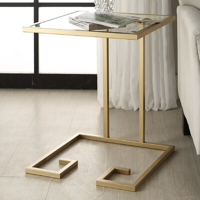 Panther End Table Finish: Gold