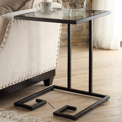 Panther End Table Finish: Black