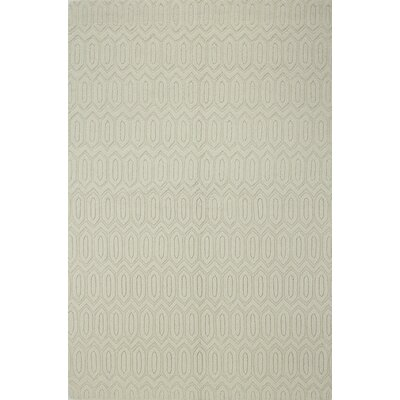 Adonis Hand-Woven Ivory Area Rug Rug Size: Rectangle 5 x 76