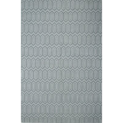 Adonis Hand-Woven Light Blue Area Rug Rug Size: 76 x 96