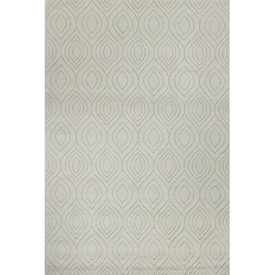 Mizel Hand Woven Wool Ivory Area Rug Rug Size: Rectangle 5 x 76