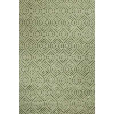 Orion Hand-Woven Light Green Area Rug Rug Size: Rectangle 5 x 76