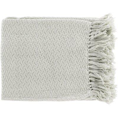 Polaris Cotton Throw Blanket Color: Natural