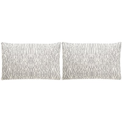 Kinetic Small Throw Pillow Color: Steel