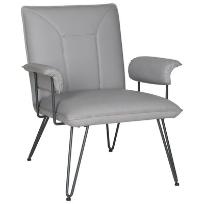 Aphrodite Side Chair Upholstery: Gray