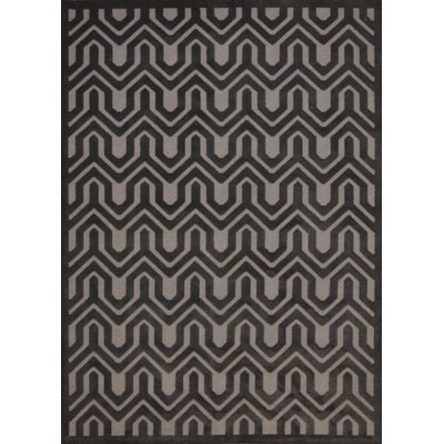 Zopyros Gray Area Rug Rug Size: Rectangle 26 x 4