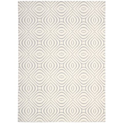 Rhea Ivory Area Rug Rug Size: Rectangle 5 x 7