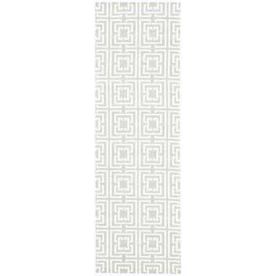 Tabris Gray Area Rug Rug Size: Runner 26 x 8