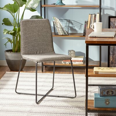 Linen Upholstered Parsons Chair (Set of 2)