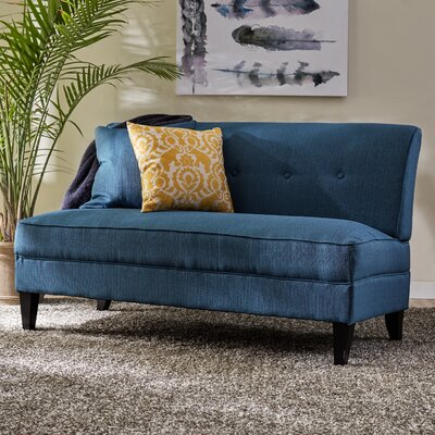 Perseus Loveseat Upholstery: Caribbean Linen