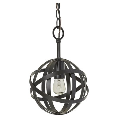 Leon 1-Light Globe Mini Pendant