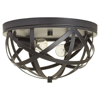 Amphitrite 2-Light Flush Mount