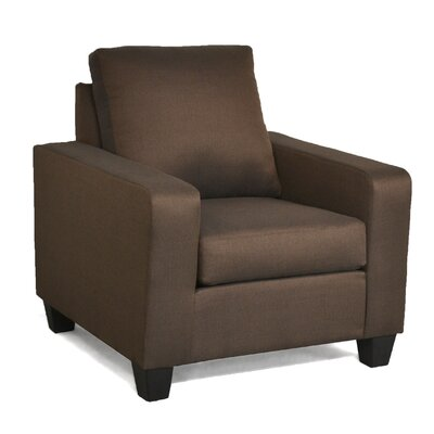 Elene Armchair Color: Stoked Chocolate