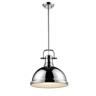 Bodalla 1-Light Mini Pendant Finish: Chrome with Chrome Shade