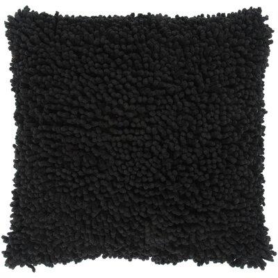 Damis Cotton Throw Pillow Color: Black