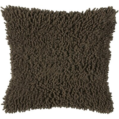 Damis Cotton Throw Pillow Color: Mocha
