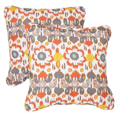 Lucus Indoor/Outdoor Throw Pillow Size: 22 H x 22 W
