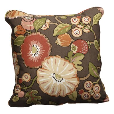 Lucio Indoor/Outdoor Throw Pillow Size: 18 H x 18 W