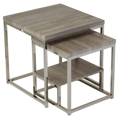 Philippos 2 Piece Nesting Table Set