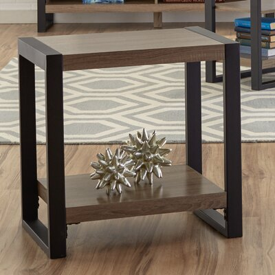Theodulus End Table Finish: Driftwood