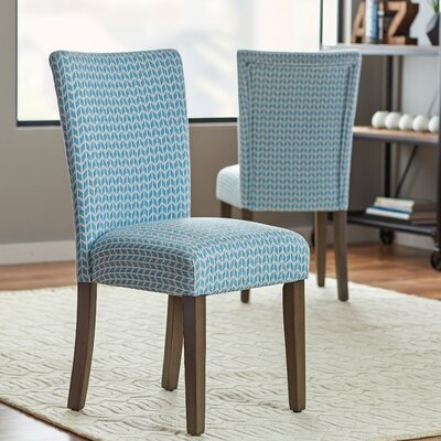 Zayas Side Chair Finish: Chambray