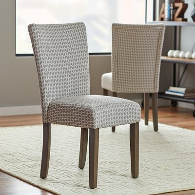 Salia Side Chair Finish: Smoke